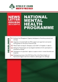 The Sixth Newsletter of the National Mental Health Program